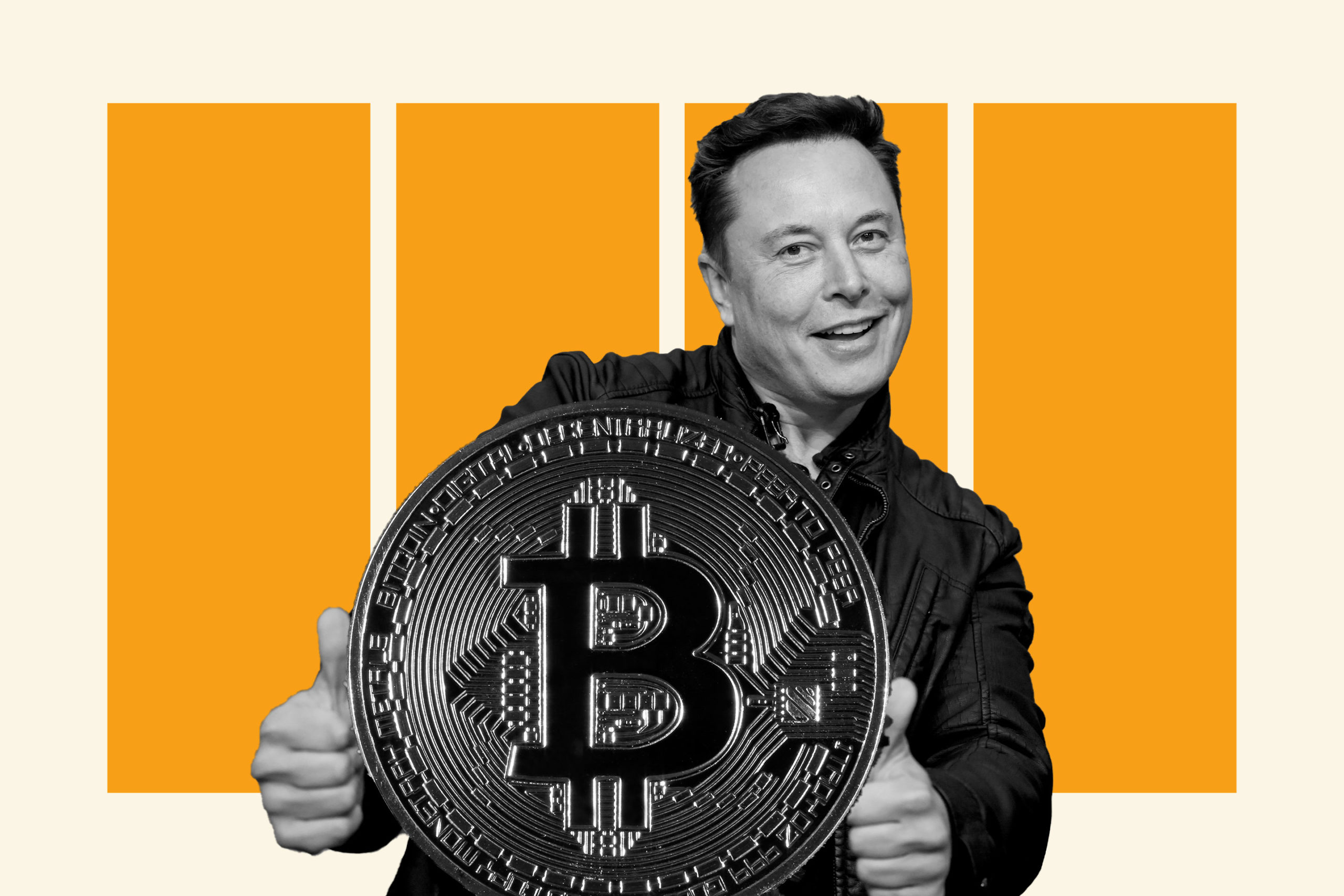 Elon Musk has tweeted again about bitcoin. The market reacted by falling