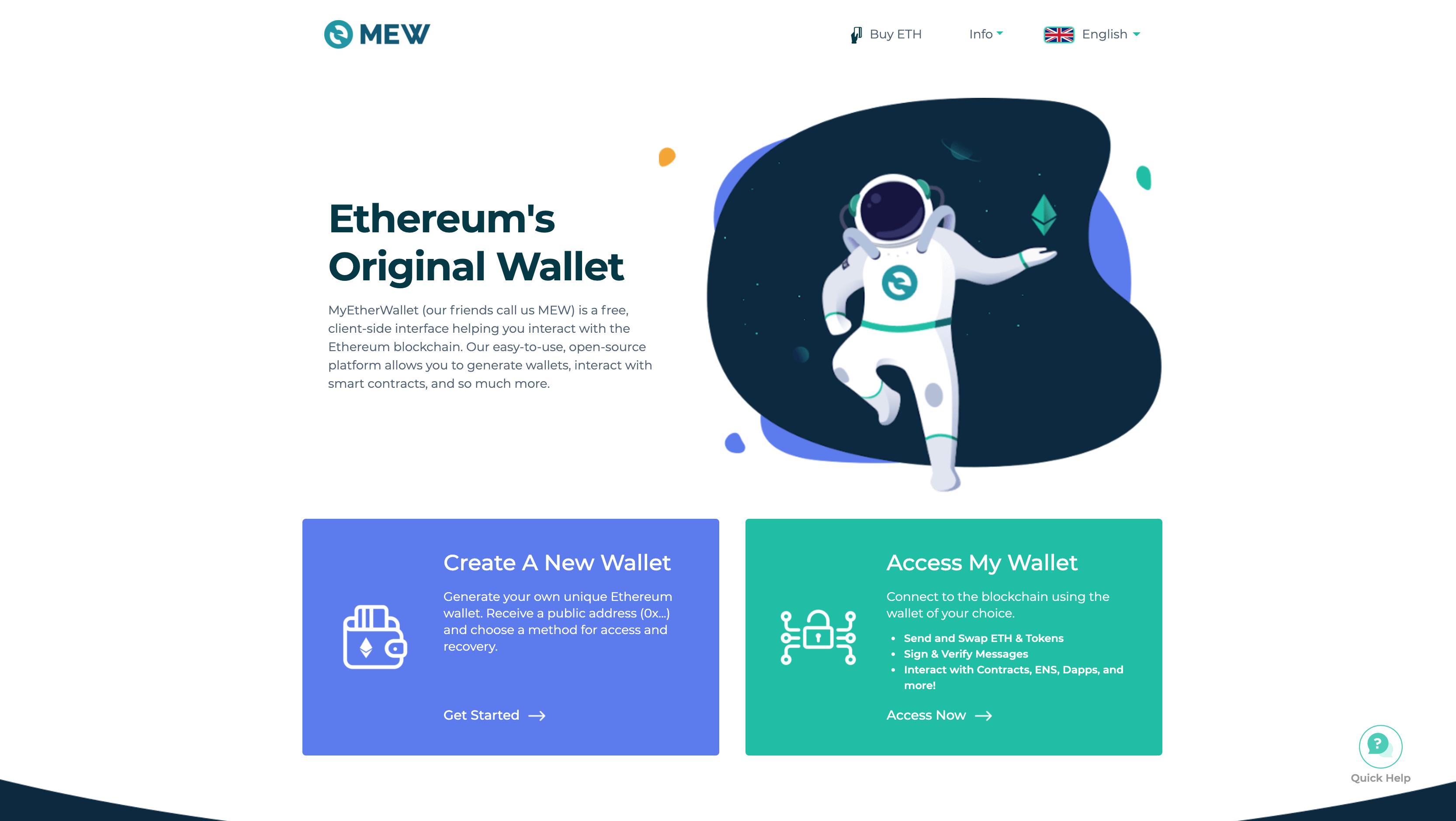 My Ethereum Wallet