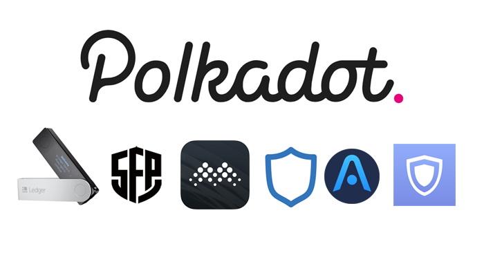Polkadot wallets secure