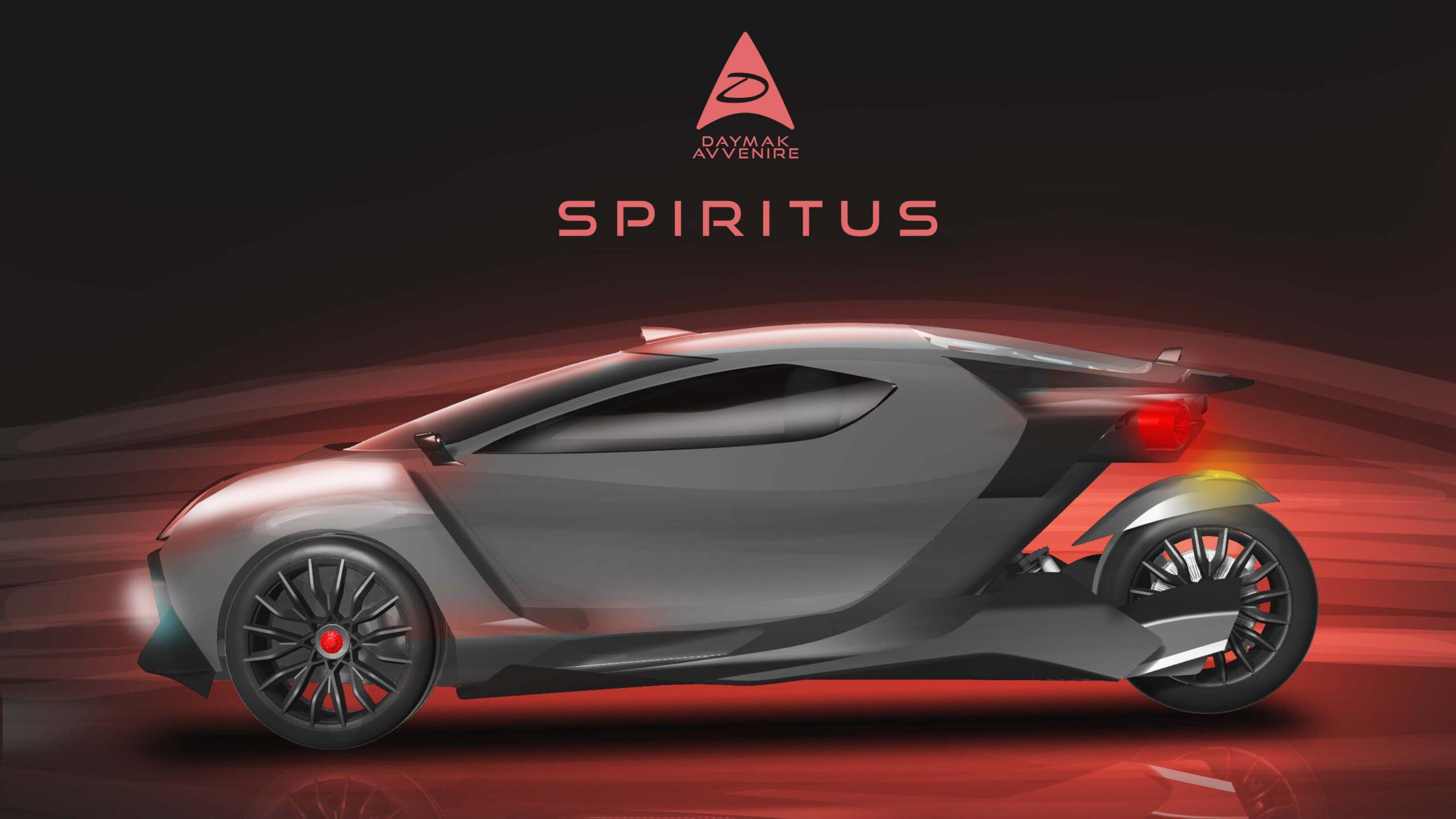Spiritus electric vehicle