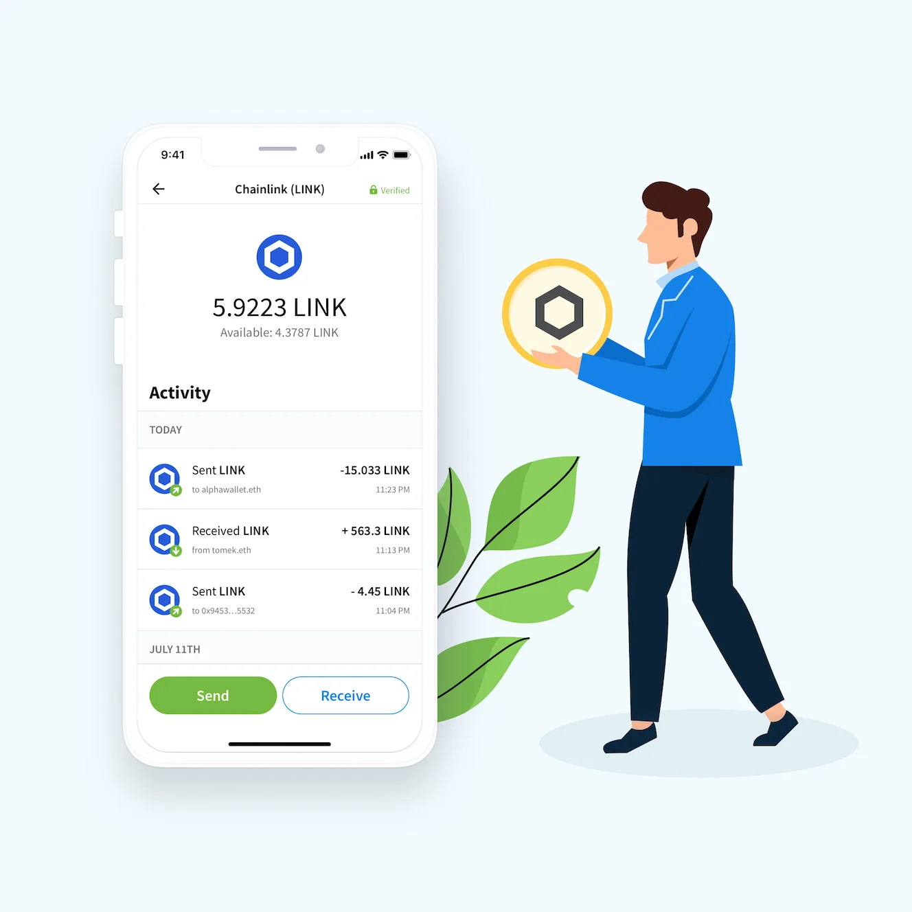 Where can I download Chainlink Wallets