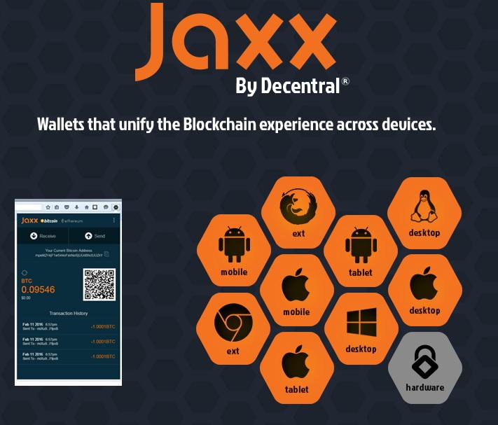 download the Jaxx Wallet