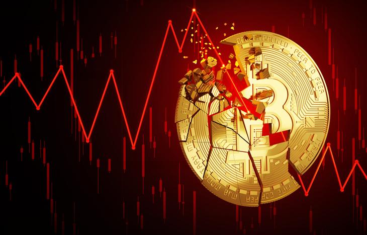 Bitcoin could still crashd