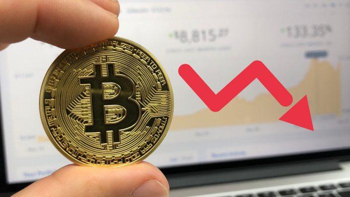 Bitcoin price falls below - is the total crash coming