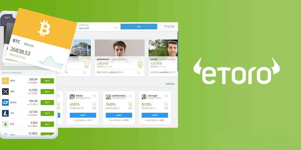 Buying real bitcoin on eToro