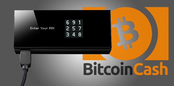 Keepkey for Bitcoin Cash