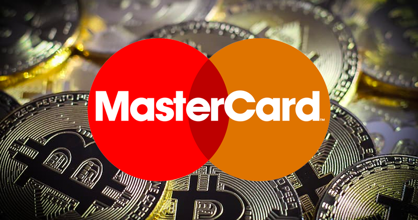 Mastercard cryptocurrency space