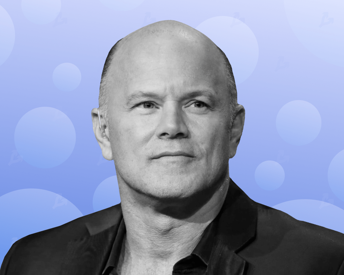 Mike Novogratz Asia sells bitcoin and the US buys it