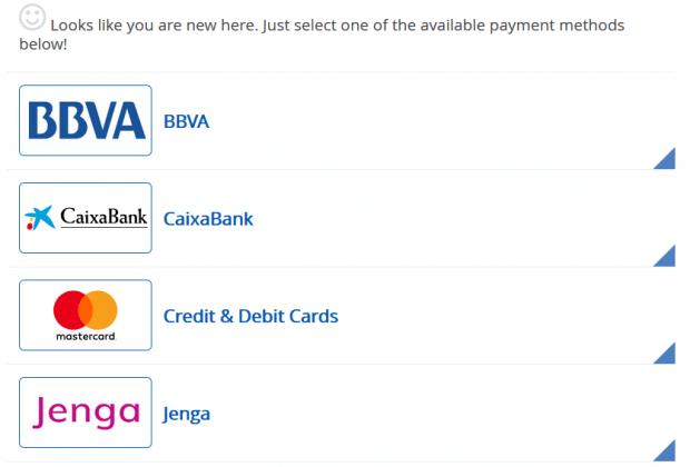 The deposit at Bitcoin Pro