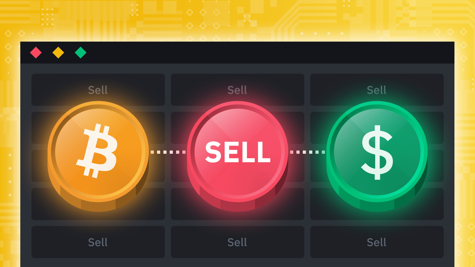 Trade Bitcoin with instant bank