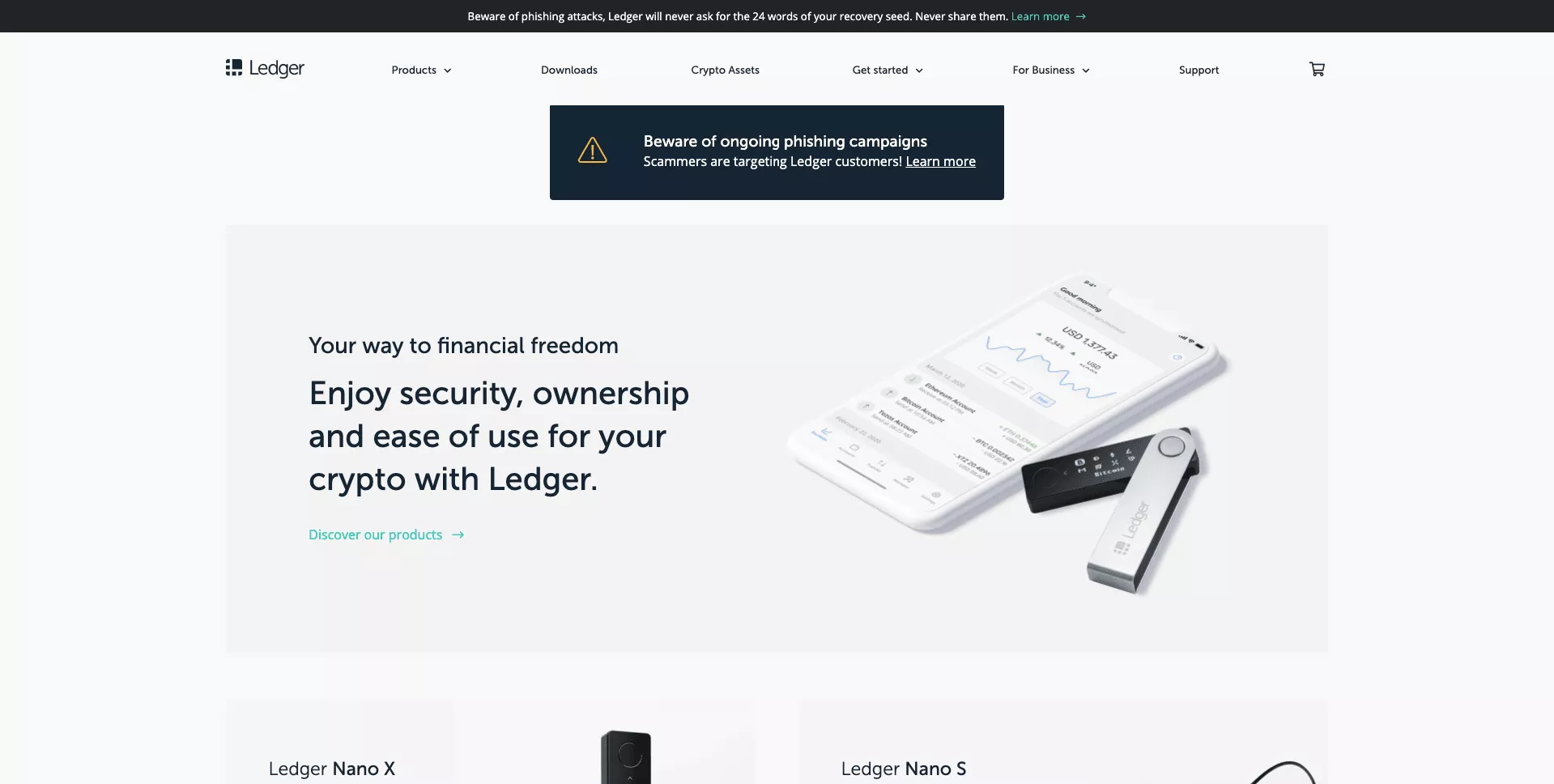 What is the Ledger Nano S Walletdd