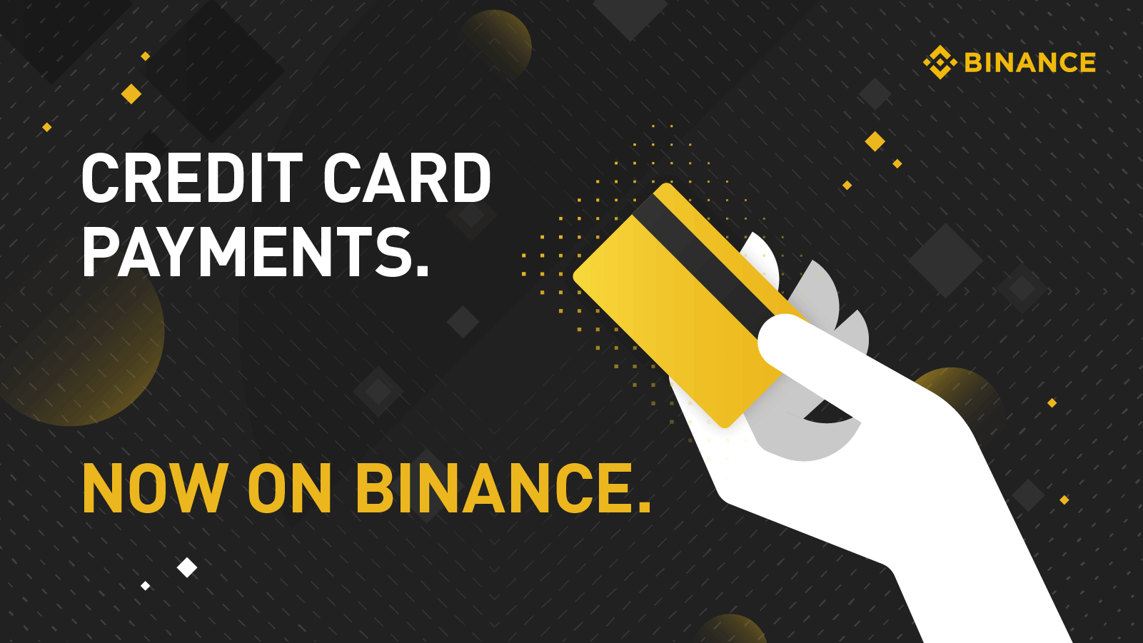 Binance experience Payment methods