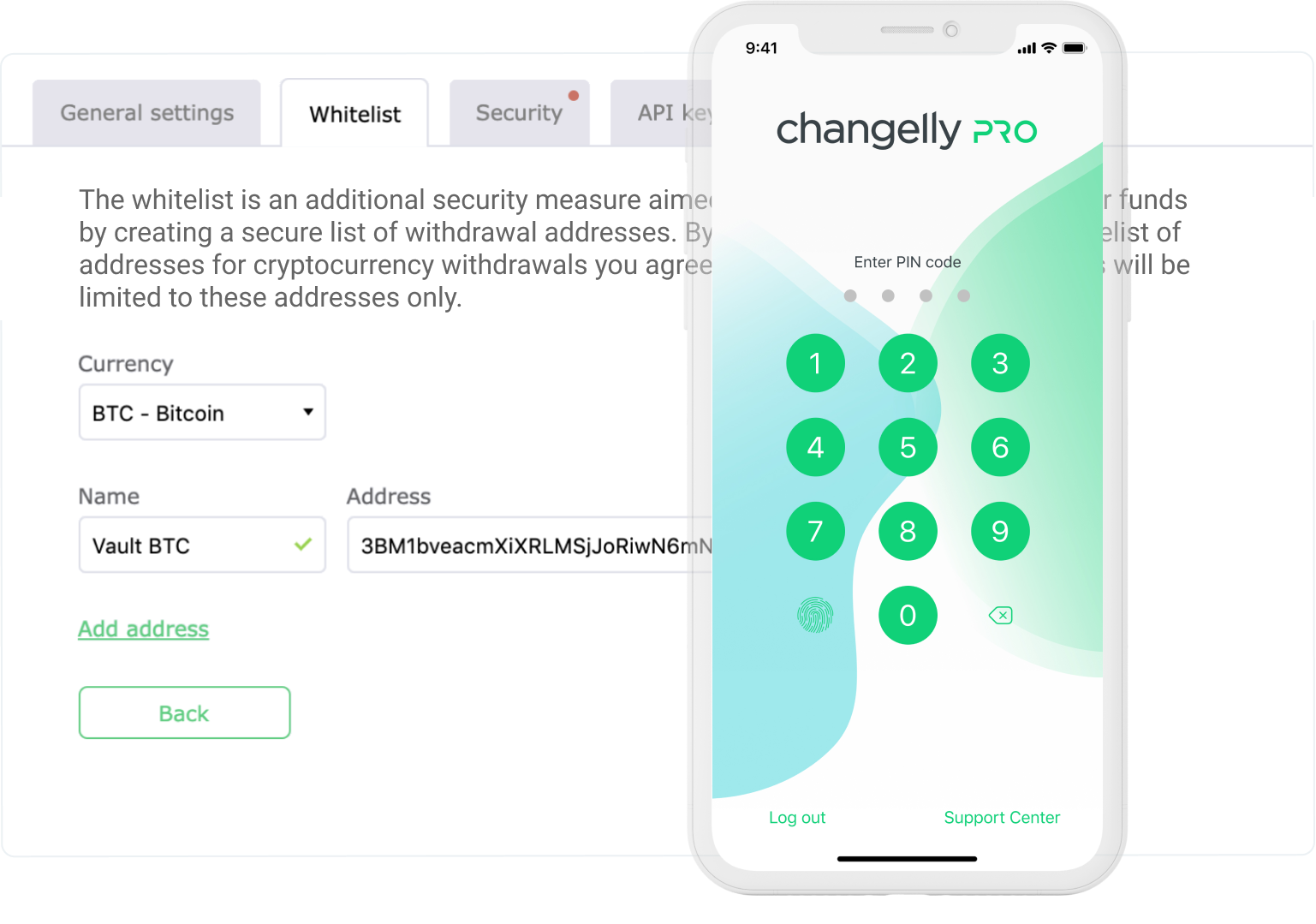 Changelly Security