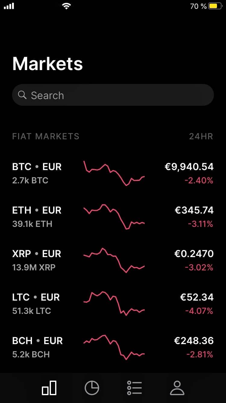 Coinbase Pro App