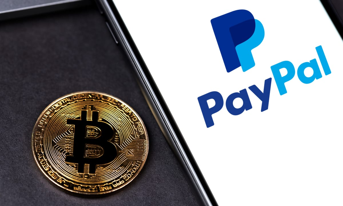 Cryptocurrencies with PayPald