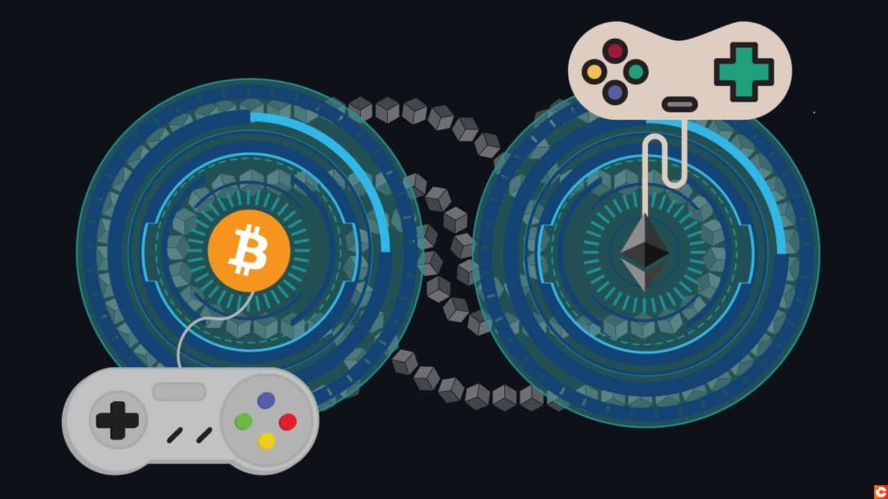 Cryptocurrency gaming companiesd