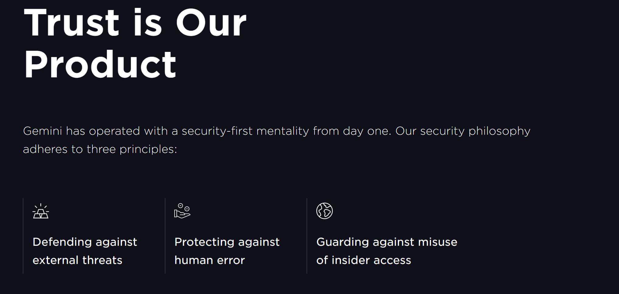 Gemini-Sicherheit