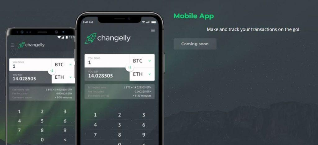 The Changelly App