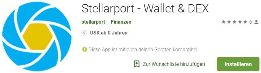The Stellarport App