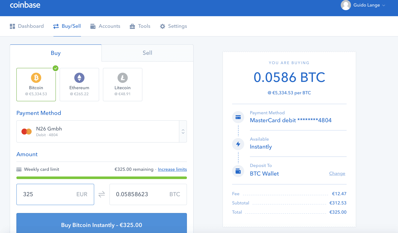 bank details have