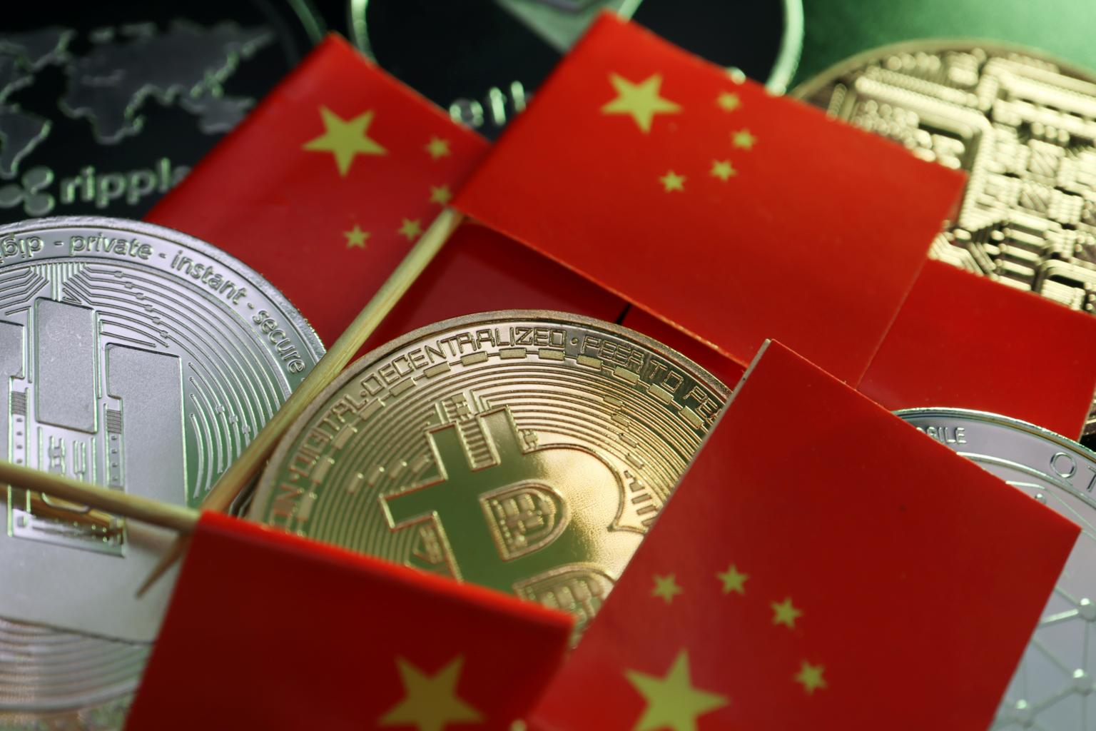 illicit cryptocurrency transactions have dropped sharply in China