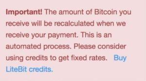 LiteBit payment methods
