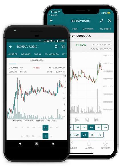Poloniex-App