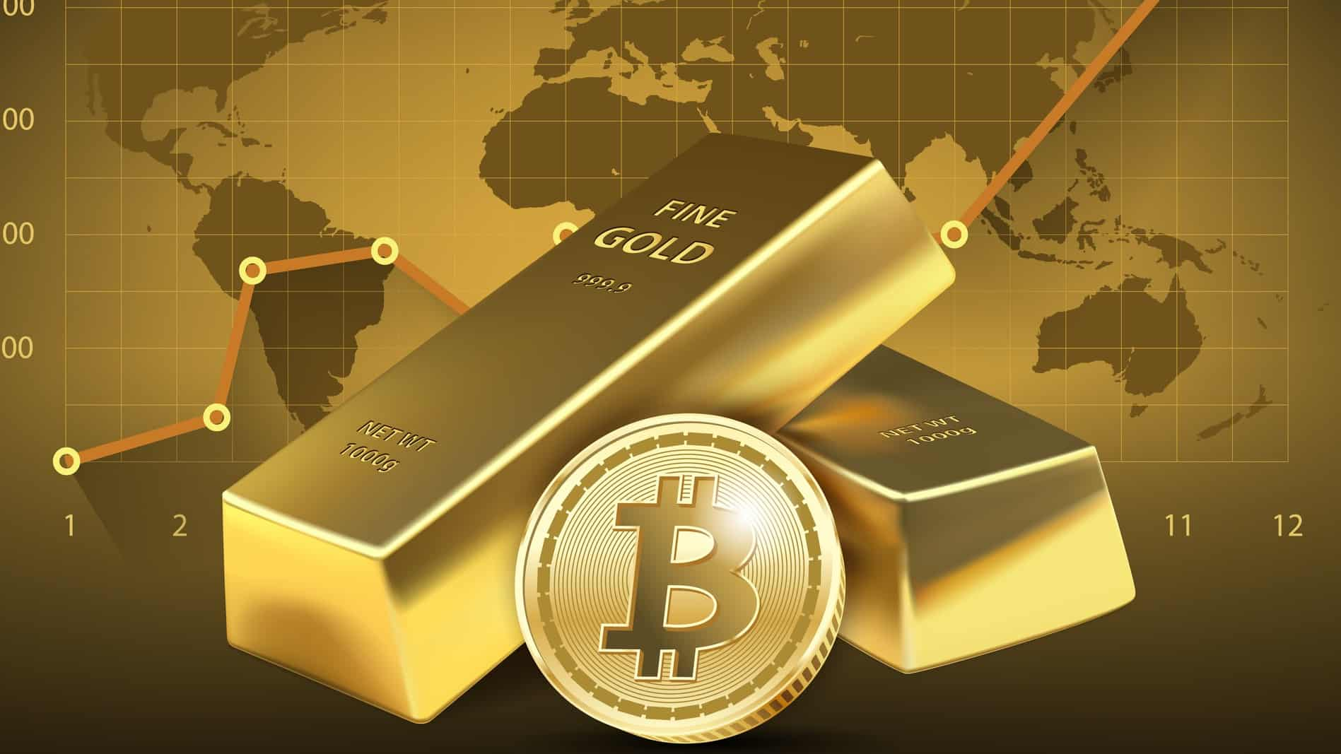 bitcoin volatility makes gold investment more attractive